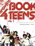 Answers book 4 teens : vol 1 by Bodie Hodge, Tommy Mitchell, with Ken Ham.